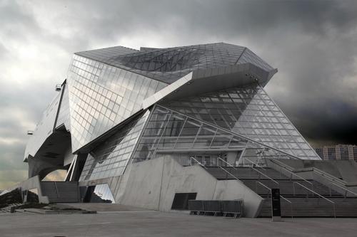 A la crois e des regards le dinoblog for Architecture chinoise